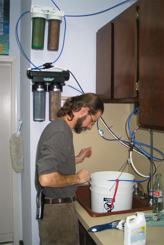 HydroRush HydroLogic Water Filter